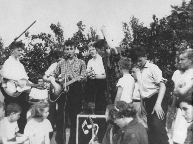 The Quarrymen perform at the Woolton Parish Church Fete