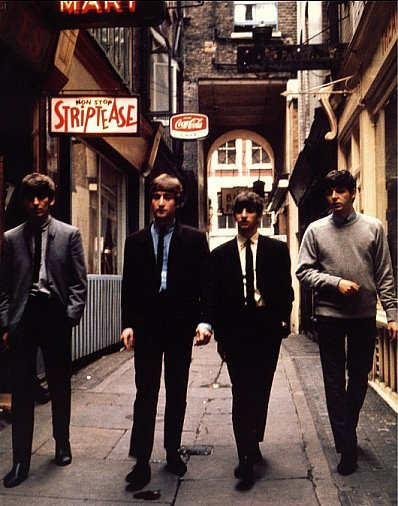 The Beatles in Rupert Court