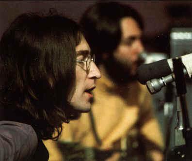The Beatles at Twickenham Film Studios