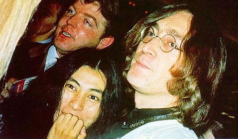 John with Yoko