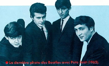 Paul, Pete Best, George, John