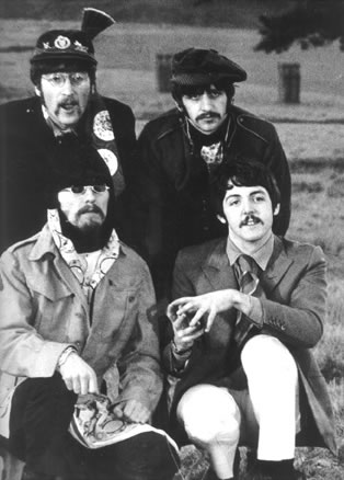 The Beatles at Knole Park, Sevenoaks, Kent