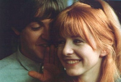 Jane Asher and Paul