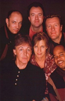 Paul's band for the World Tour '93