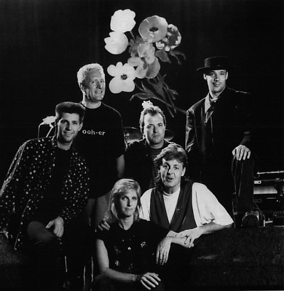 Paul's band in 1989: Chris Whitten (drums)