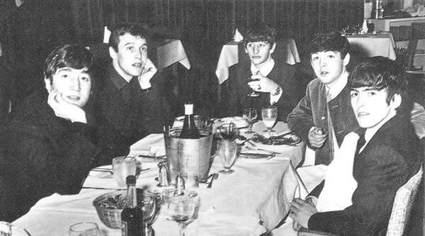 The Beatles with Neil Aspinall
