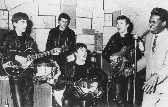 The Beatles and Davy Jones at the Cavern Club