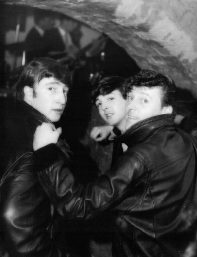 With Gene Vincent at the Cavern Club