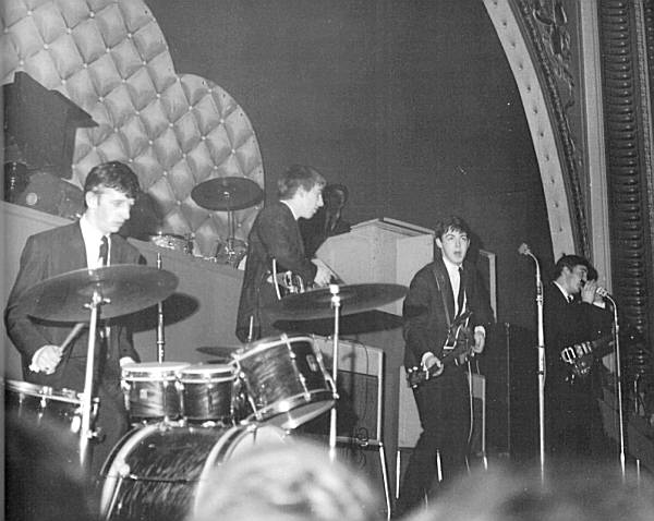 One of the first gigs with Ringo after Best has been sacked