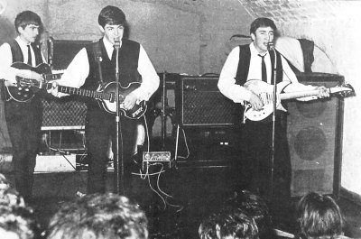 First filming of The Beatles live at the Cavern Club