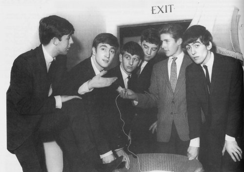 Interview of the Beatles before they go on stage