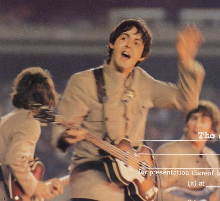 1965, August 15 - At the Shea Stadium