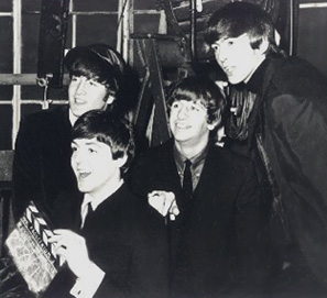 The Beatles promotes `A Hard Day's Night' film