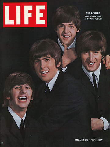 A vintage `Life' magazine's 1964 issue