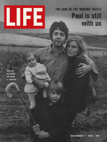 Issue covers the clues in the Magical McCartney Mystery