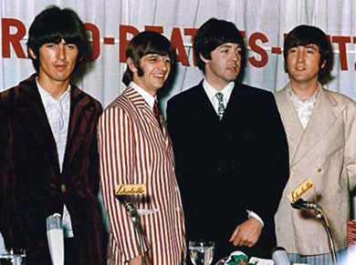 Beatles Press Conference in Essen