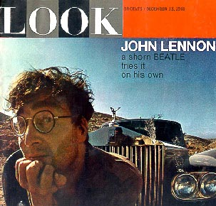 `Look' magazine contains `A Shorn Beatle Tries It on His Own'