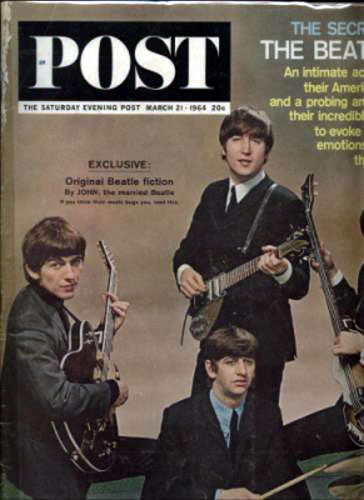 Saturday Evening Post `special Beatles exclusive'