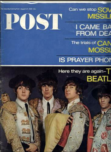 Contains eight pages of rare Beatles photos and interesting fab four facts