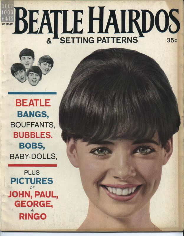 Beatle Hairdos & Setting Patterns Magazine