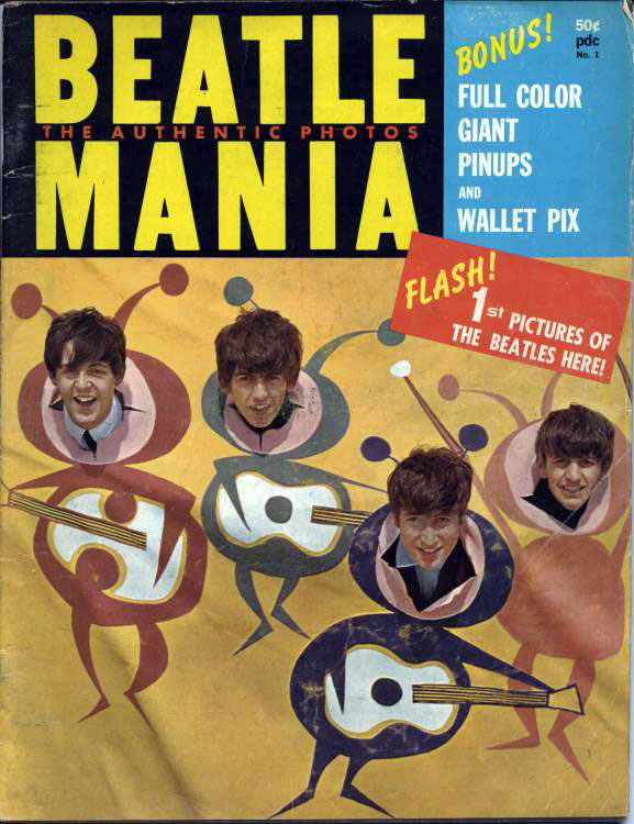 Beatle Mania -  The Authentic Photos Magazine