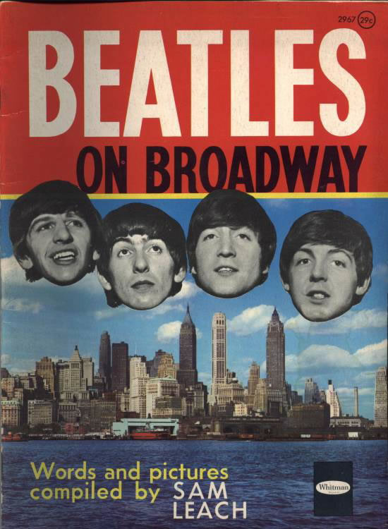 The Beatles on Broadway - Published by World Distributors Manchester Limited (UK) 1964