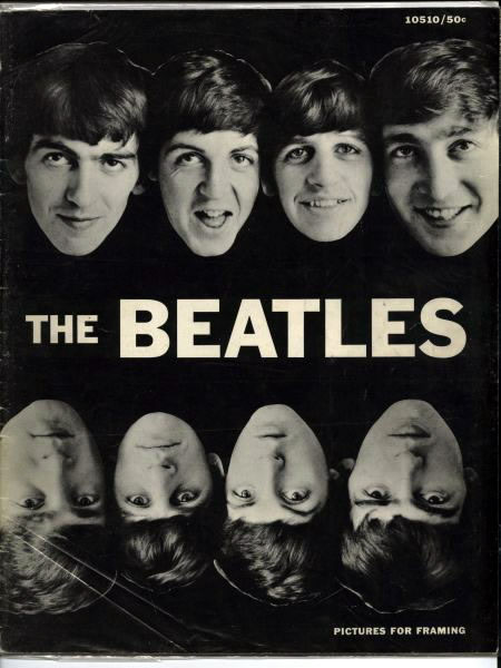 The Beatles Picture For Framing Magazine - Published by Hutchinson of London - Pocket Books