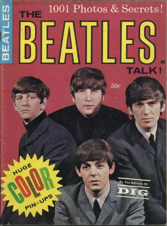 The Beatles Talk! Published by Deidre Publications in 1964