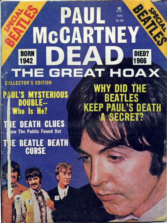 Paul McCartney Dead - The Great Hoax: Published by Stories