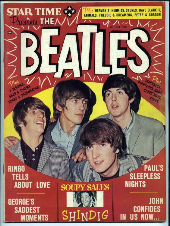 Star Time - Presents The Beatles Magazine: Published by AAA Publishing Co