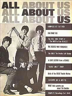 All About Us is a vintage Beatles magazine