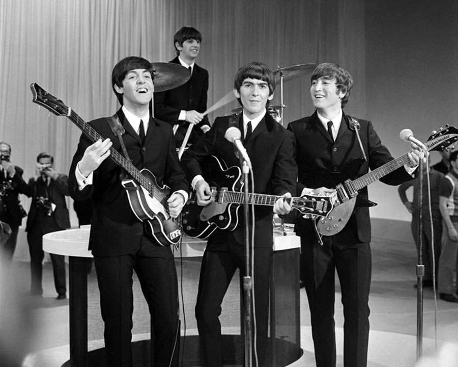 The Beatles at Ed Sullivan Show