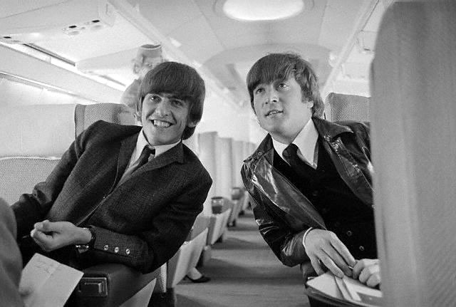 George and John arriving from Tahiti
