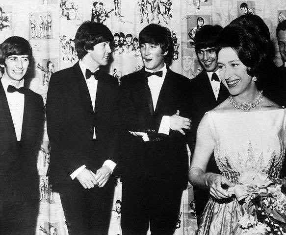 The Beatles and Princess Margaret