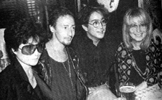 Yoko Ono, Julian Lennon, Shean Ono Lennon, Cynthia