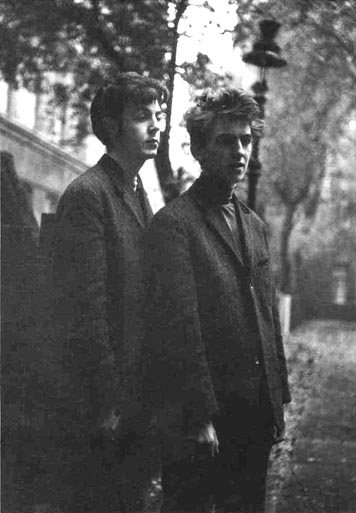 Paul and George in Hamburg