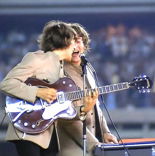 At the Shea stadium