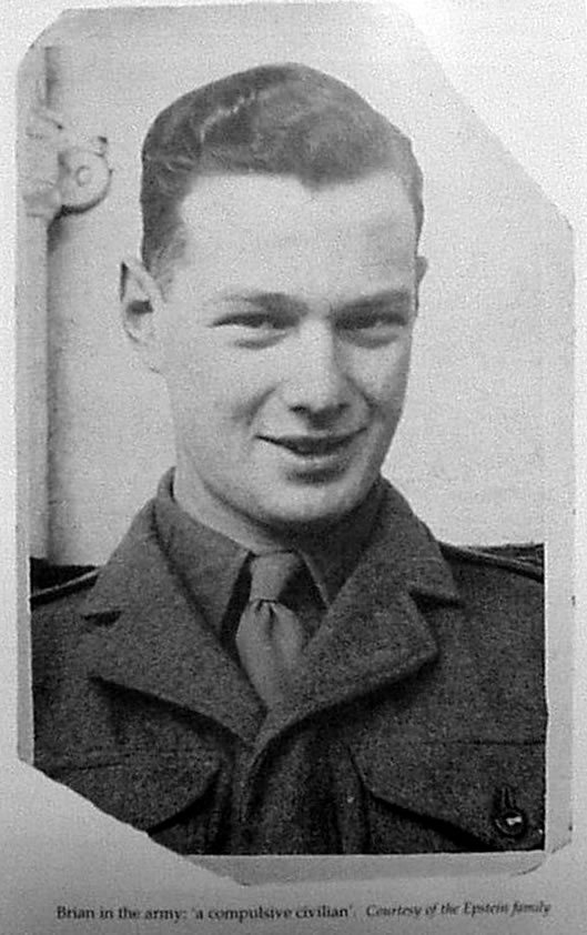 Brian Epstein in the Army
