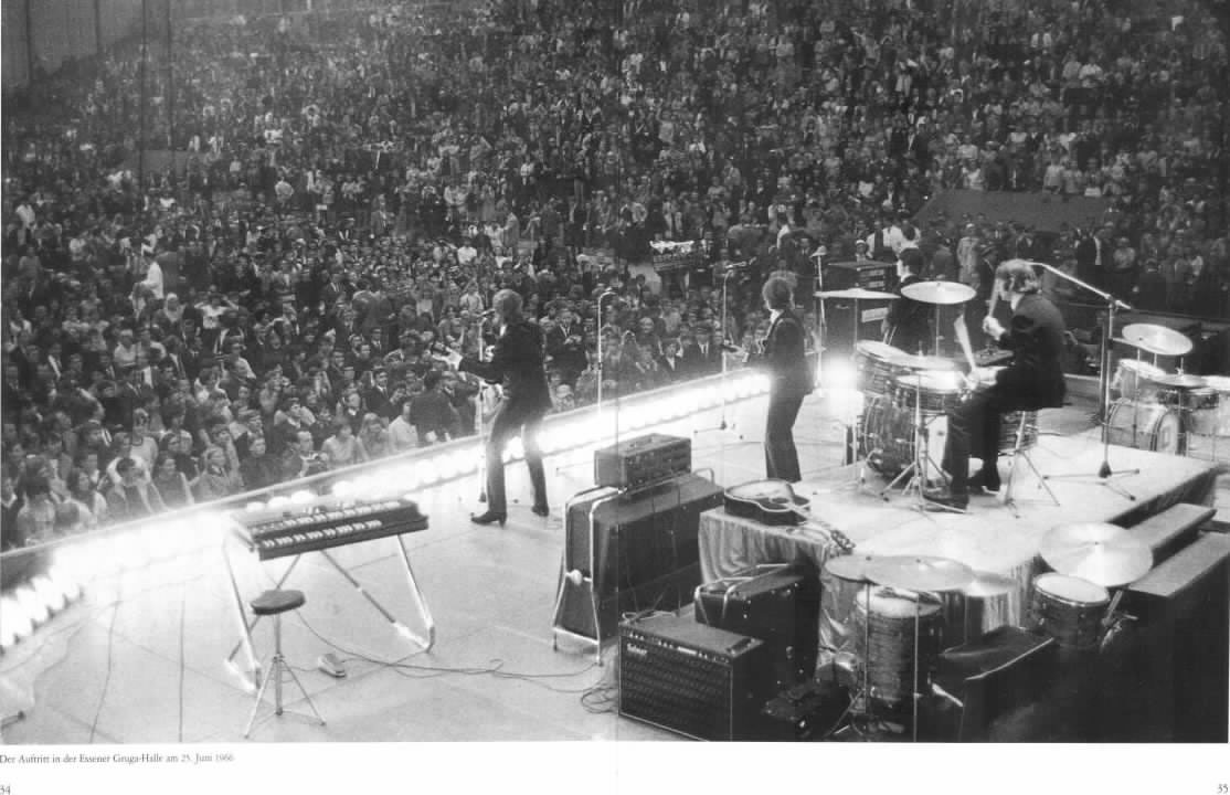 The Beatles in Essen