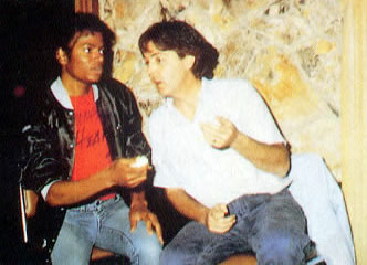Michale Jackson, Paul McCartney