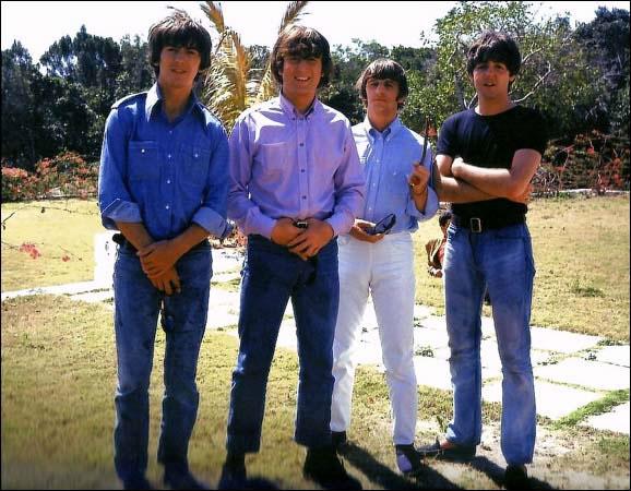 The Beatles in Help! movie