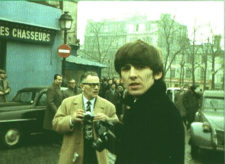George Harrison in Paris