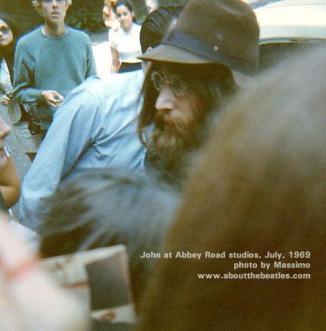 John at Abbey Road studios