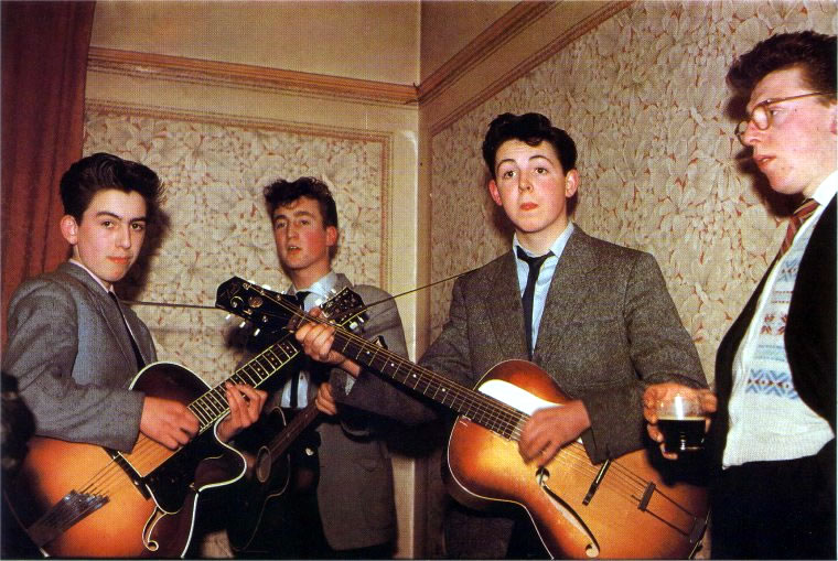 Image result for beatles at harrison brother wedding
